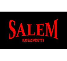 Salem Massachusetts - red Photographic Print