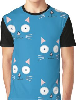 Smiley cat Graphic T-Shirt
