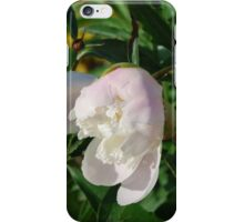 Half Bloom Peony iPhone Case/Skin