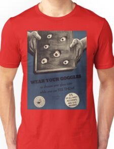 Vintage poster - Navy accidents Unisex T-Shirt