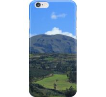 Fields and Mountains iPhone Case/Skin