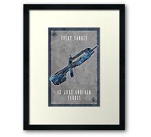 Halo 5 Locke Framed Print