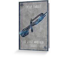 Halo 5 Locke Greeting Card
