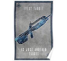 Halo 5 Locke Poster