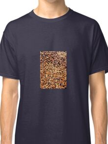 Large stack of fire wood cut to small lengths  Classic T-Shirt