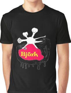 BJORK - BLACK ALBUM COVER Graphic T-Shirt