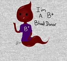 B+ Blood Donor Droplet Unisex T-Shirt