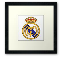 real madrid Framed Print