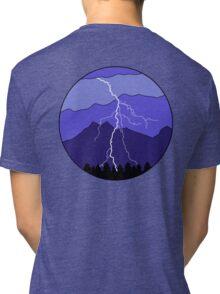Landscape Lightning Tri-blend T-Shirt