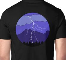 Landscape Lightning Unisex T-Shirt