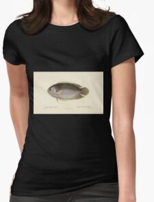 Natural History Fish Histoire naturelle des poissons Georges V1 V2 Cuvier 1849 050 Womens Fitted T-Shirt