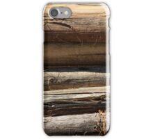 Pile of Logs iPhone Case/Skin
