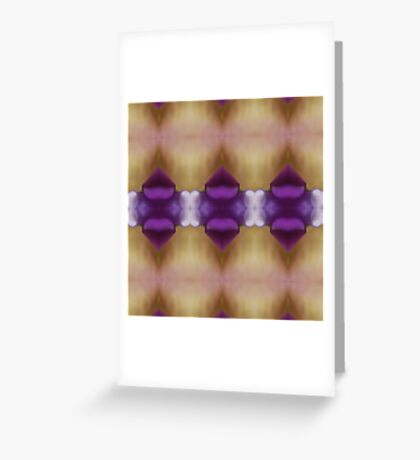 Hearts And Gems Greeting Card