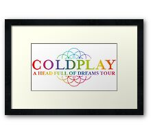 coldplay Framed Print
