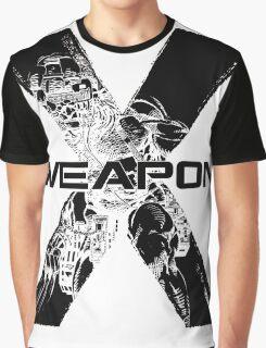 Wolverine •X-Men •Weapon X Graphic T-Shirt