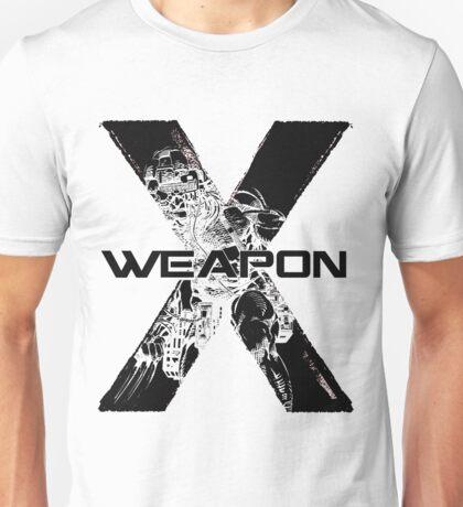 Wolverine •X-Men •Weapon X Unisex T-Shirt