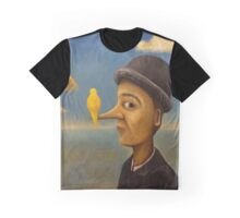 Gold Canary Graphic T-Shirt