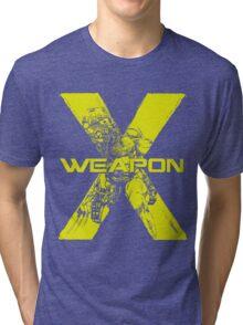 Weapon X •Wolverine Tri-blend T-Shirt