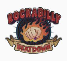 Rockabilly Beatdown (Fem Fist) One Piece - Long Sleeve