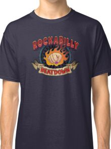 Rockabilly Beatdown (Fem Fist) Classic T-Shirt