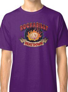 Rockabilly Beatdown (Fem Fist) Classic T-Shirt