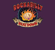 Rockabilly Beatdown (Fem Fist) Womens Fitted T-Shirt
