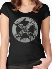 X-Men • Team Up • Logo Women's Fitted Scoop T-Shirt