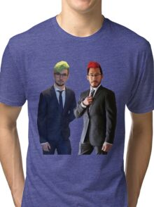 Septiplier wedding Tri-blend T-Shirt