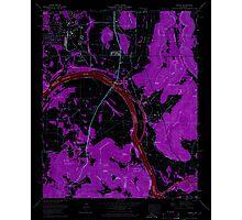 USGS TOPO Map Alabama AL Farley 303818 1964 24000 Inverted Photographic Print