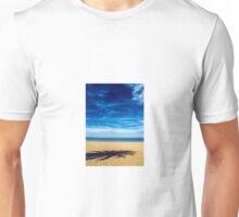 Solitude on empty beach Unisex T-Shirt
