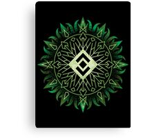 The Dark Sigil Below Canvas Print