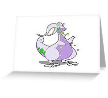 Goodra Greeting Card