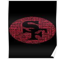 San Francisco - Tshirt Poster