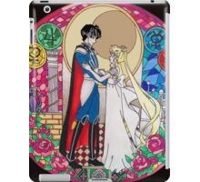 Sailor Moon Serenity and Endymion  iPad Case/Skin