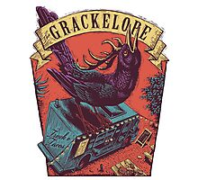 The Grackelope (color keystone) Photographic Print