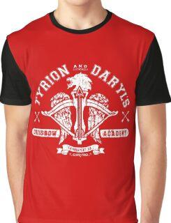 Walking Dead Thrones Mashup Graphic T-Shirt