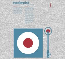Modernist Turntable One Piece - Long Sleeve