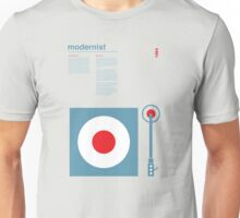 Modernist Turntable Unisex T-Shirt