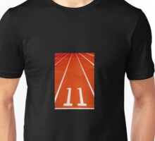 Running track number 11 Unisex T-Shirt