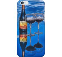 Bottle of Wine by Lena Owens iPhone Case/Skin