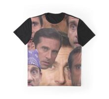 The Many Faces of Michael Gary Scott Graphic T-Shirt
