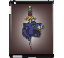 Dagger Panther iPad Case/Skin