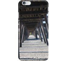 Pier Below iPhone Case/Skin