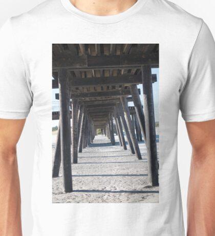 Pier Below Unisex T-Shirt