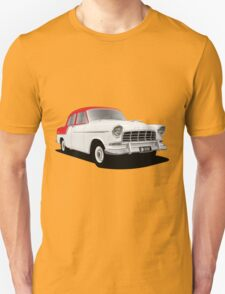 Holden FC Special Sedan - Flame Red over India Ivory T-Shirt