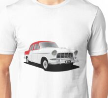 Holden FC Special Sedan - Flame Red over India Ivory Unisex T-Shirt