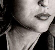 Dana Scully (Charcoal) Sticker