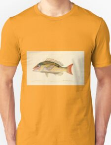 Natural History Fish Histoire naturelle des poissons Georges V1 V2 Cuvier 1849 215 T-Shirt