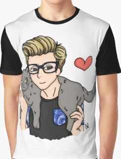 The Cat Whisperer Graphic T-Shirt
