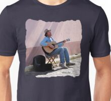 Happy Musician Catching Some Rays Unisex T-Shirt